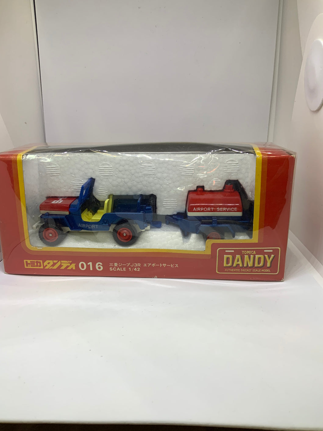 TOMICA DANDY 016 JEEP