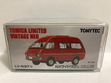 Load image into Gallery viewer, Takara Tomy Tomica Limited Vintage Neo Tomytec LV-N97a Daihatsu Delta Wide Wagon High Roof 1800 Custom Extra (#Y)