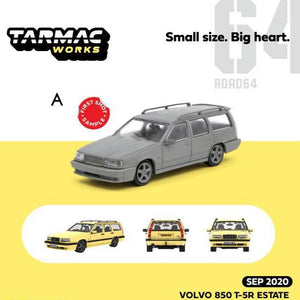 Preorder ~ Tarmac Works 1/64 Volvo 850 T-5R Estate, Yellow - ETA : Sep 2020