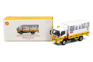 Tiny City Die-cast Model Car - ISUZU N Series Shell LPG Transportation Truck