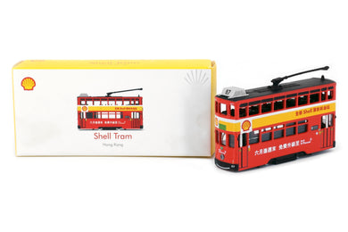 Tiny City Die-cast Model Car - Hong Kong Tram Shell (Red)