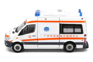 Tiny City CN13 Die-cast Model Car - Mercedes-Benz Sprinter Guangzhou Ambulance