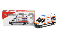 Load image into Gallery viewer, Tiny City CN13 Die-cast Model Car - Mercedes-Benz Sprinter Guangzhou Ambulance