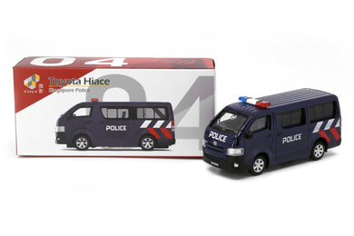 Tiny City SG4 Die-cast Model Car - Toyota Hiace Singapore Police (New)