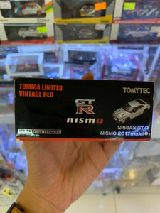 Tomica Limited Vintage Neo 1/64 Tomytec Nissan GT-R Nismo 2017 Model Log-On Exclusive