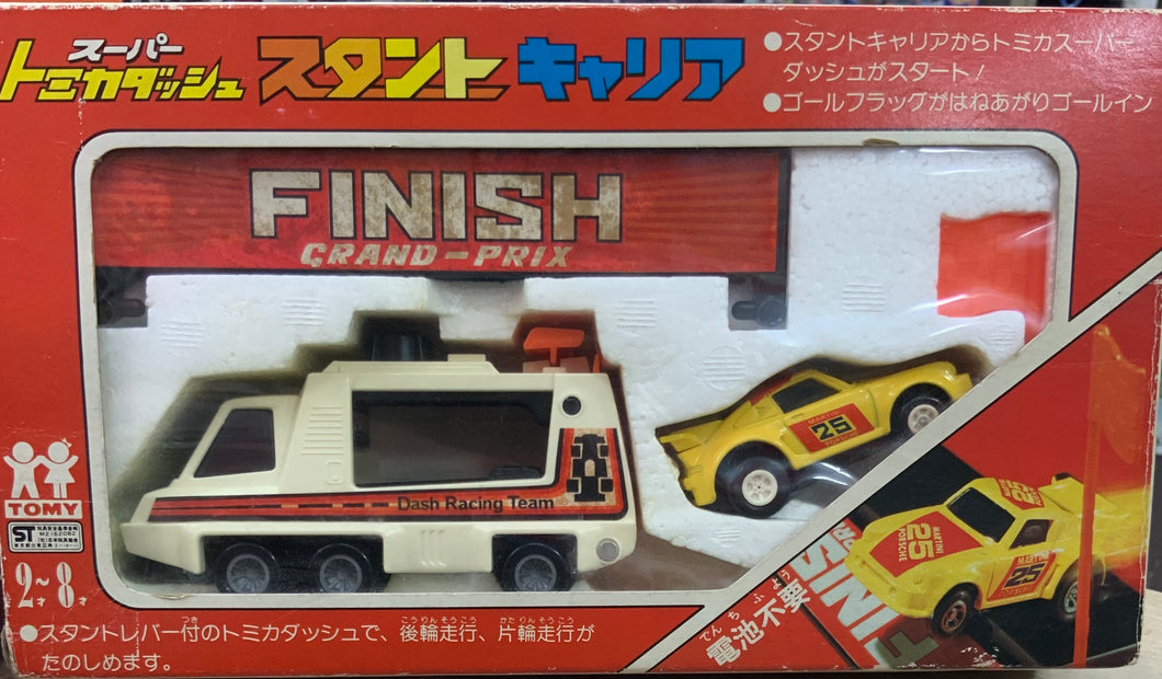 TOMY FINISH GRAND-PRIX POWER TOMICA MADE IN JAPAN