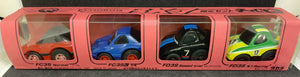 TOMY CHORO-Q RX-7 FC3S Normal,FC3S custom,FD3s speed trial,FD3S N1 racing