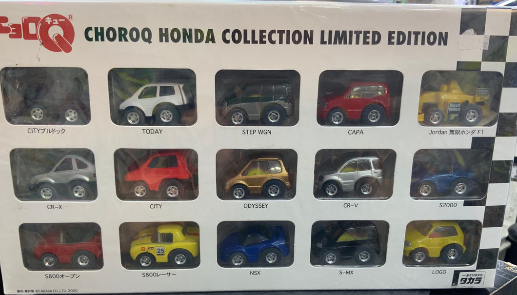 TOMY CHORO-Q HONDA COLLECTION LIMIED EDITION