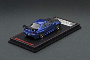 Preroder ~ 1/64 x ig ignition Models Nissan Skyline R34 Z Tune ig1869 Blue Metallic ETA : Jan 2020