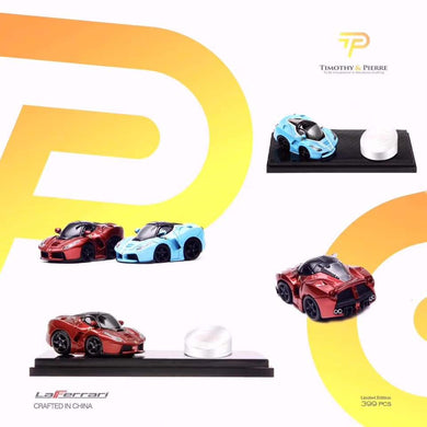 Preorder ~ Timothy & Pierre Q Scale Mini Cooper & LaFerrari ~ 4 Variants ETA : December 2019 Limited 399 Pcs each