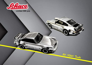 Preorder ~ Schuco 1/64 Porsche 911 930 Turbo Chrome Asia Exclusive Limited 999 Pcs ETA : June 2020