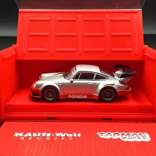 Preorder ~ Tarmac Works 1/64 Porsche 930 RWB Rauh-Welt Begriff HANNA with Container China Exclusive - ETA October 2019