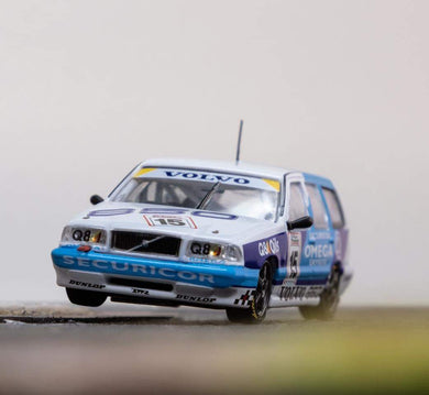 Preorder - Tarmac Works 1/64 Volvo 850 Estate BTCC 1994 Jan Lammers with Container ~ Release Date : Oct 2020