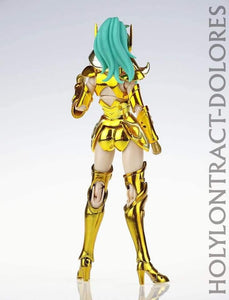 GreatToys Saint Seiya Myth Cloth Holy Contract EX Female Aries Dolores Figure ( Free Shipping Worldwide )