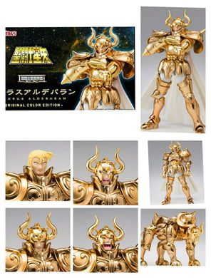 Preorder -  Bandai Saint Seiya Cloth Myth EX OCE Original Color Edition Manga Gold Taurus Aldebaran Action Figure Release Date : April 2021 ( Free Shipping Worldwide )