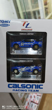 Load image into Gallery viewer, Tomy Tomica TL GTR Nissan Skyline R31 R32 Calsonic Dual Box Set