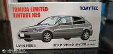 Load image into Gallery viewer, Tomy Tomica Limited Vintage Neo Honda Civic Type R LV-158b