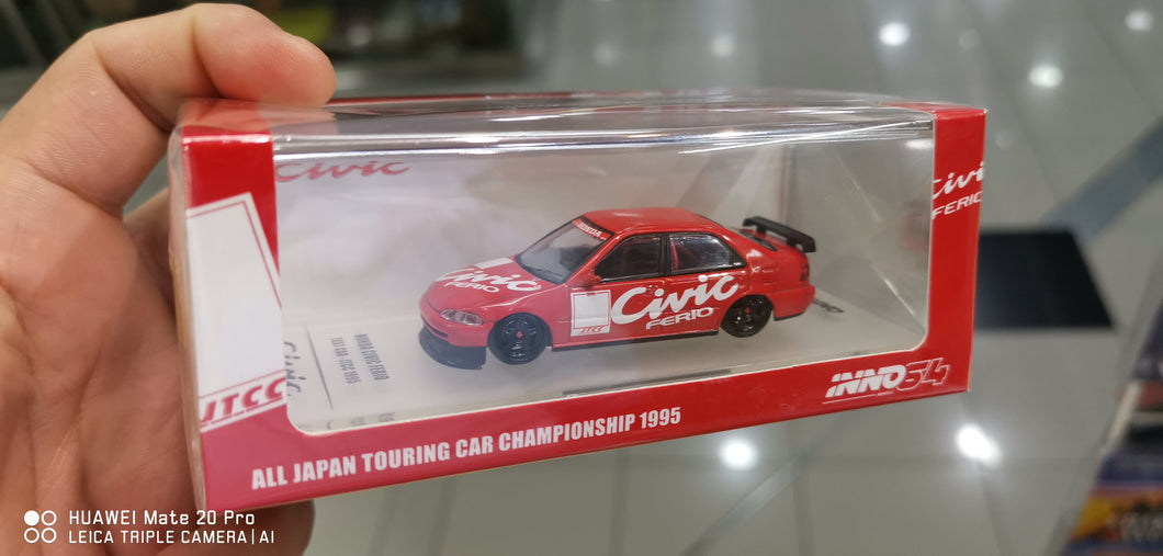 Inno64 Honda Civic Ferio JTCC Test Car 1995 #J