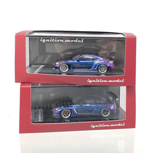Preorder ~ Tarmac Works 1/64 x ig ignition Model Pandem GTR & 86V3 Blue/Purple Malaysia Exclusive