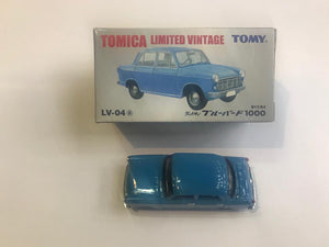 Tomica Limited Vintage Tomy LV-04a Datsun Bluebird 1000