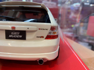 NYK Auto Motion Collectibles 1/18 Honda Civic Type R EP3 2004 Mugen Hand Made Resin Model Limited 250 Pcs