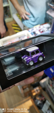 FuelMe 1/64 Crafts Tech Mini Cooper Q Car ( Purple )