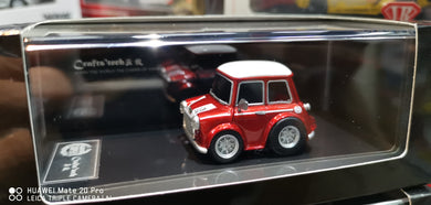 FuelMe 1/64 Crafts Tech Mini Cooper Q Car ( Red )