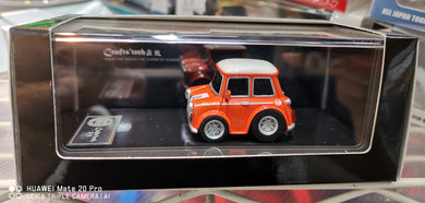 FuelMe 1/64 Crafts Tech Mini Cooper Q Car ( Orange )