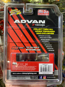 Johnny Lightning 1/64 Advan Yokohama Mijo Exclusive 1999 Nissan Skyline GT-R BNR34 1 of 4800 Pcs