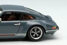 Load image into Gallery viewer, Make Up 1/64 Singer Titan Porsche 911 ( 964 ) Coupe TM001B Gray