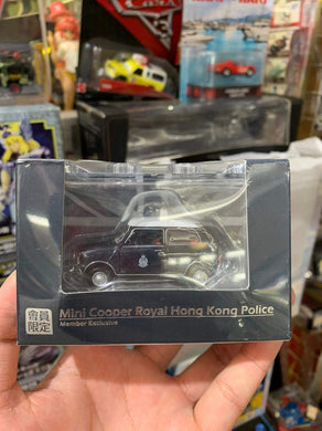 1:50 Tiny Mini Cooper S Royal Hong Kong Police Vehicle VIP Club Member Exclusive