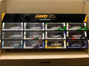 Set of 12 Inno64 MGP 2019 Exclusives + Display Case 300 Pcs Only ( Free Shipping Worldwide  )