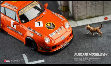 Preorder ~ FuelMe Models 1/64 Rauh Welt Begriff RWB Porsche 993 Jagermeister Resin Made Model ETA : Jan 2020