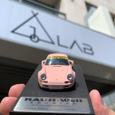 Preorder ~ ( Pink ) Model Collect 1/60 Porsche RWB 930 Ducktail Wing Taiwan Exclusive ETA: April 2020