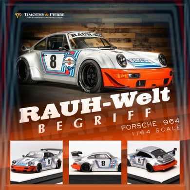 Preorder ~ Timothy & Pierre 1/64 Porsche RWB 964 Martini No.8 - ETA : June 2020