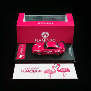 Preorder - Time Model TM 1:64 Diecast Model RWB 993 Chinese Valentine Flamingo - Release Date : Aug 2020