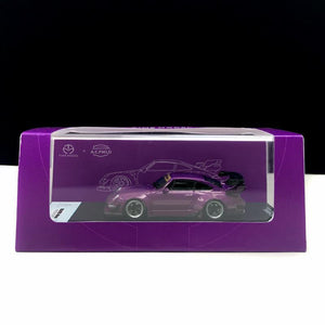 Preorder - Time Model TM 1:64 Diecast Model Car RWB 993 Star Purple - Release Date : Oct 2020