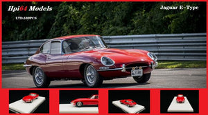 Preorder - Hpi 64 1:64 Resin Model Jaguar E-Type Limited 599 Pcs Alloy Wheels made by CMC Release Date : Oct 2020