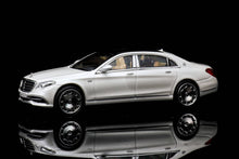 Load image into Gallery viewer, Preorder - Master 1/64 Diecast Model Maybach S680 White Release Date : Nov 2020