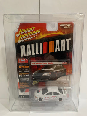 Johnny Lightning White Lightning Import Heat Mijo Exclusives Ralliart 2004 Mitsubishi Lancer Evolution (#Y)
