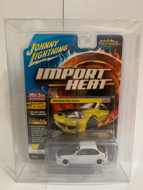 Johnny Lightning White Lightning Import Heat Street Freaks Mijo Exclusives 1998 Honda Civic Custom (#Y)