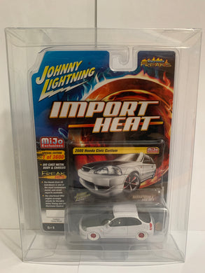 Johnny Lightning White Lightning Import Heat Street Freaks Mijo Exclusives 2000 Honda Civic Custom (#Y)