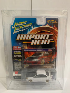 Johnny Lightning White Lightning Import Heat Street Freaks Mijo Exclusives 2004 Mitsubishi Lancer Evolution (#Y)