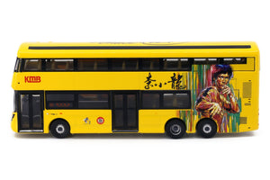 Tiny City Die-cast Model Car - KMB VOLVO B8L WRIGHT Bruce Lee (Yellow)