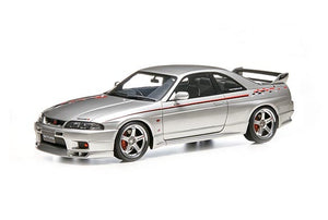 Preroder ~ ignition model ig 1/18 Resin Nissan Skyline GT-R (BCNR33) V-spec Silver Japan Fuji Speedway Nismo Exclusive ETA : 12-9-2019 ( Free Shipping Worldwide !!! )
