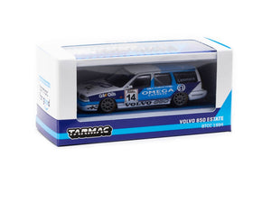 Tarmac Works 1/64 Volvo 850 Estate BTCC 1994 Jan Lammers with Container