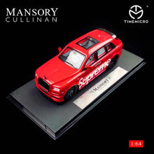 Load image into Gallery viewer, Preorder - Time Model TM 1:64 Diecast Rolls Royce Cullinan Mansory Supreme Release Date : Nov 2020
