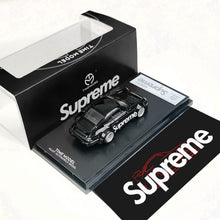 Load image into Gallery viewer, Preorder -  Time Mirco TM RWB 964 Diecast Model 1:64 Black Supreme Release Date : Nov 2020