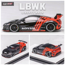 Load image into Gallery viewer, Preorder ~ Timothy & Pierre TP 1/64 Resin Model NSX LBWK Advan Limited 499 Pcs - ETA : Jan 2021