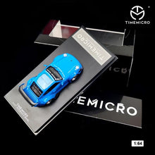 Load image into Gallery viewer, Time Mirco TM 1:64 Diecast RWB 993 Plain Blue Limited 300 Pcs